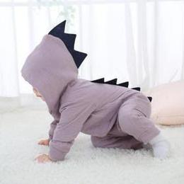(即納)恐竜ロンパース