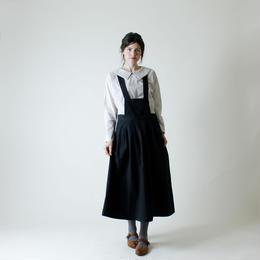 MAGALI サスペンダースカート/ブラック