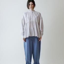 MAGALI  フロントボタン・パンツ/ブルー