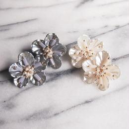 shell flower pierce