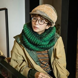 <BWG212U> RIB GRA SNOOD