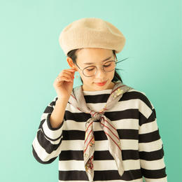 <BSB202U> COTTON KNIT BERET