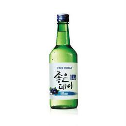 韓国焼酎 ジョウンデ― Blue 360ml ブルーベリー味