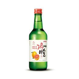 韓国焼酎 ジャモンエイスル 360ml  グレープフルーツ味