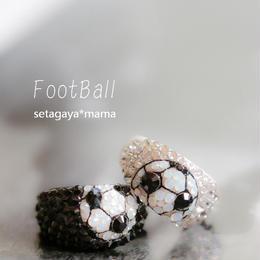 NDecoサッカーママ御用達  サッカー・デコリング 中サイズ