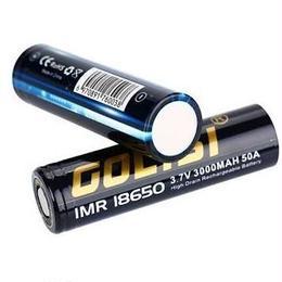 GOLISI IMR 18650 バッテリー 3000mAh/50A