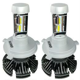 LED H4 50W 10000LM 車検対応 ヘッドライト 二年保証 LEDバルブ 配光調整必要無し VLAND TD35モデル