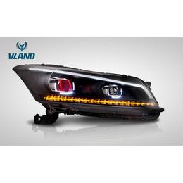 VLAND インスパイア CP3 国内カットライン LED ヘッドライト プロジェクター 左右セット ファイバー ドレスアップ