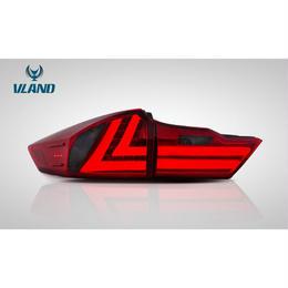 VLAND グレイス GM4/5/6/9型 LED テールランプ GRACE ブラック レッド ドレスアップ ファイバー 一年保証