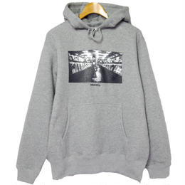 """DIG IN THE JUNGLE""  PULL OVER PARKA [ HEATHER GRAY]"
