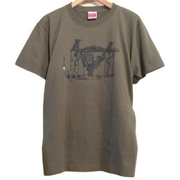 和製STAR WARS  Tee [CITY GREEN]