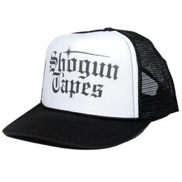 SHOGUN TAPES MESH CAP [B/W]