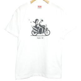 """CHANGUU RIDE"" Tee  [WHITE]"