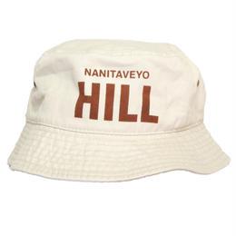 NANITAVEYO HILL バケットハット  [PUTTY]