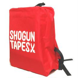 """SHOGUNTAPES """"BACKPACK"""" [RED]"""