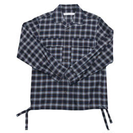 DONTSUKI / CHECK SHIRT (BLUE)
