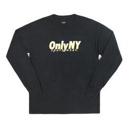 Only NY /Breakline Longsleeve T-Shirt (Vintage Black)