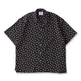 SON OF THE CHEESE / rain dot shirts  (BLACK)