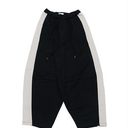 DONTSUKI / SIDE LINE WIDE PANTS (BLACK)