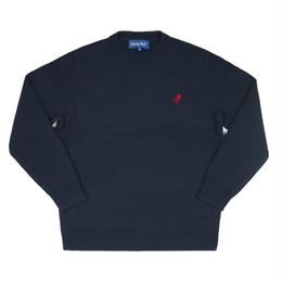 Only NY / Knit OK Sweater (Navy)