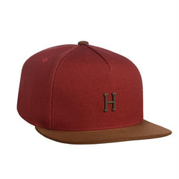 HUF / SMALL METAL H STRAPBACK (RUST)