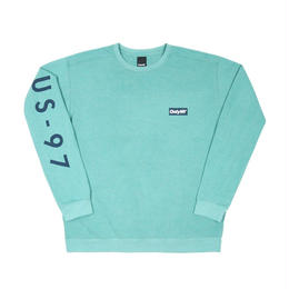 Only NY / Radar Crewneck (Seafoam)
