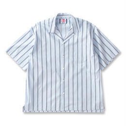 SON OF THE CHEESE / Stripe stripe shrits(BLUE)