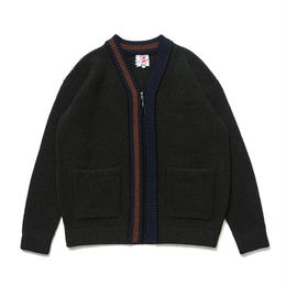 SON OF THE CHEESE / LINE cardigan (OLIVE)
