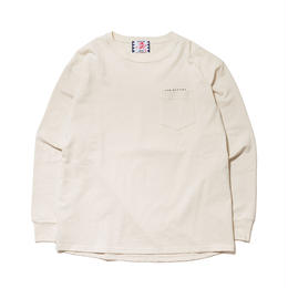 SON OF THE CHEESE / Round LS TEE(OFF WHITE)
