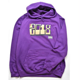 TACORIDE / DOG OF THE YEAR HOODIE (ULTRA VIOLET)