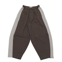 DONTSUKI / SIDE LINE WIDE PANTS (OLIVE)