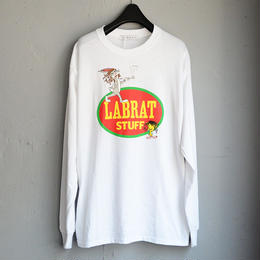 LABRAT / LABRAT×Peter Paquin L/S Tee (White)