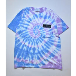 Black Weirdos / Freedom TieDye Tee   (Pink Blue)