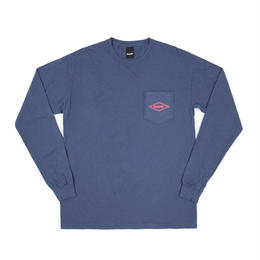 Only NY / Diamond L/S T-Shirt (Vintage Blue)