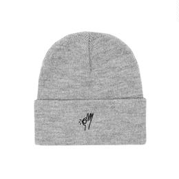 Only NY / OK Beanie (Heather Grey)
