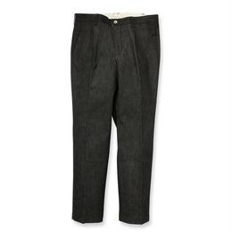 SON OF THE CHEESE / Denim slacks(BLACK)