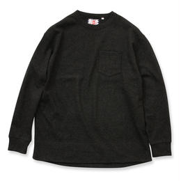 SON OF THE CHEESE / Wool long tee (D.GREY)