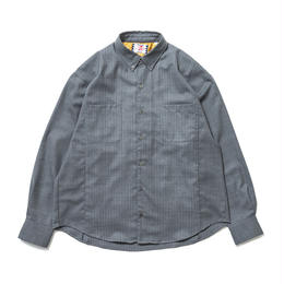 SON OF THE CHEESE / Two tone shirt (GRAY)