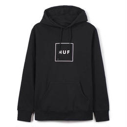 HUF / BOX LOGO PULLOVER FLEECE (BLACK)