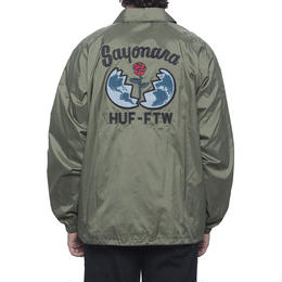 HUF / SAYANORA COACHES JACKET (DEEP OLIVE)