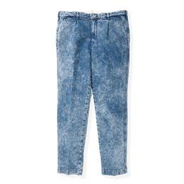 SON OF THE CHEESE / Denim slacks(BLUE)