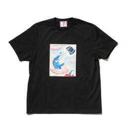 SON OF THE CHEESE / Fantom Wig RAY TEE(BLACK)
