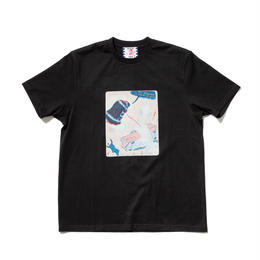 SON OF THE CHEESE / Enemy of Wig TEE(BLACK)