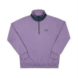 Only NY / Block Logo Quarter Zip Pullover  (Eggplant)