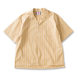 SON OF THE CHEESE / Stripe stripe shrits(YELLOW)
