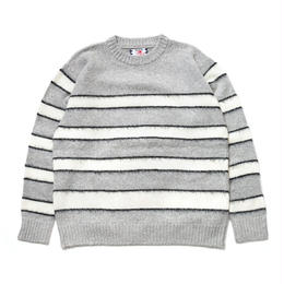 SON OF THE CHEESE / Mangan KNIT (GRAY)