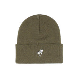 Only NY / OK Beanie (Army green)