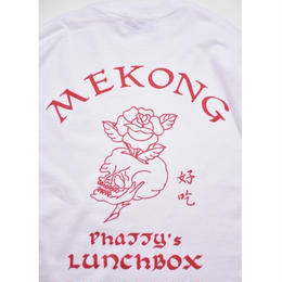 Black Weirdos / MEKONG Long Sleeve Tee  (White)