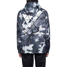 HUF / PEAK ANORAK JACKET (WHITE/CAMO)