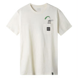 HUF / POPEYE S/S POCKET TEE (CREAM)